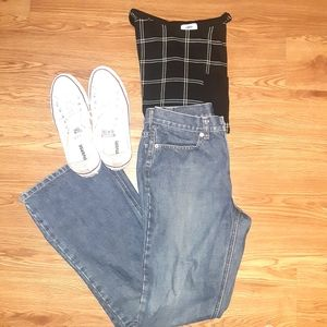 J. Crew Jeans Bootcut Size 6 #34280